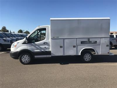2018 Transit 350 4x2,  Reading Aluminum CSV Service Utility Van #JKB36353 - photo 3