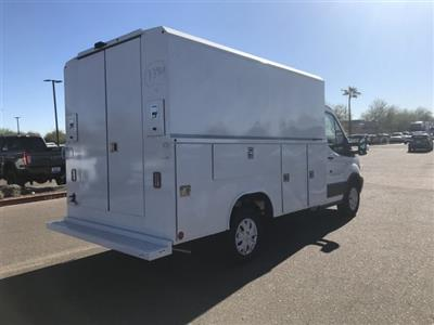 2018 Transit 350 4x2,  Reading Aluminum CSV Service Utility Van #JKB36353 - photo 2