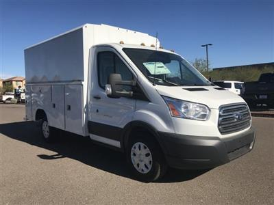 2018 Transit 350 4x2,  Reading Aluminum CSV Service Utility Van #JKB36353 - photo 1