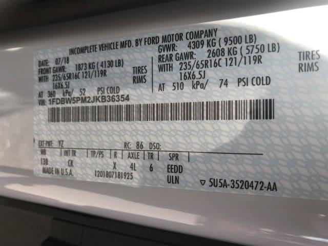 2018 Transit 350 4x2,  Reading Aluminum CSV Service Utility Van #JKB36354 - photo 21