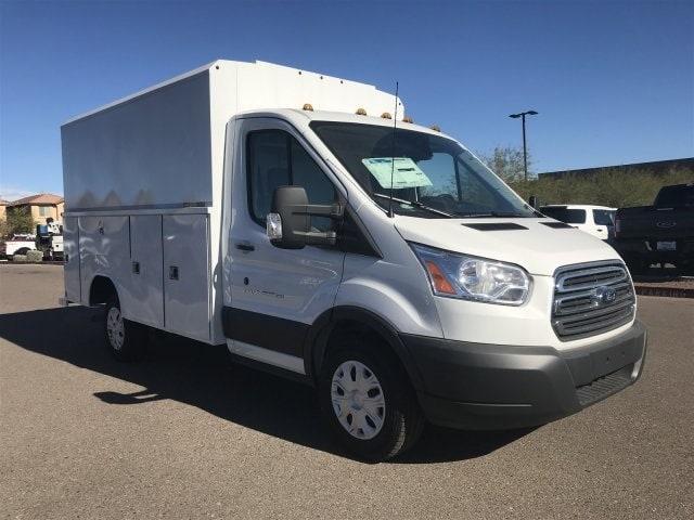 2018 Transit 350 4x2,  Reading Service Utility Van #JKB36354 - photo 1