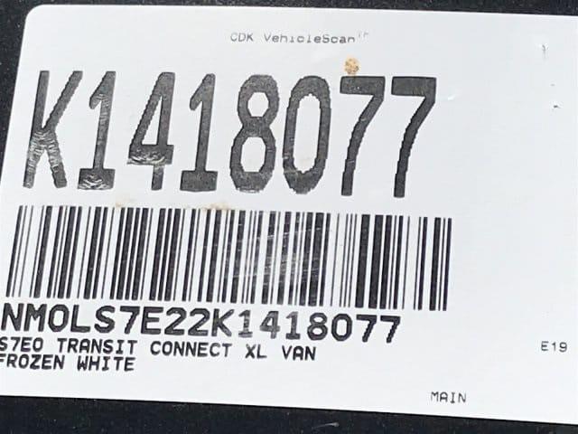 2019 Transit Connect 4x2,  Empty Cargo Van #K1418077 - photo 23