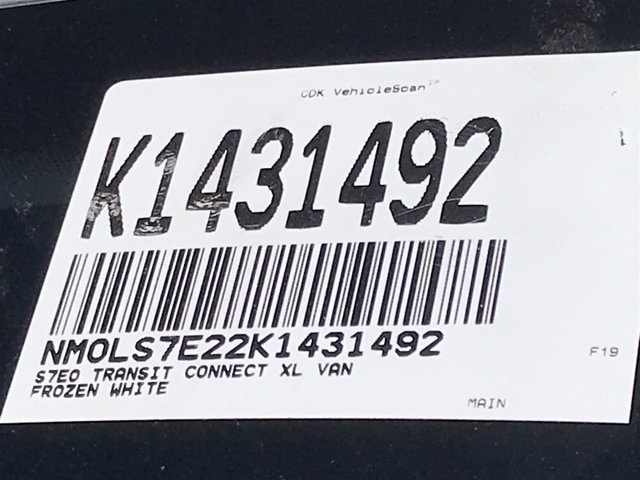 2019 Ford Transit Connect FWD, Empty Cargo Van #K1431492 - photo 23