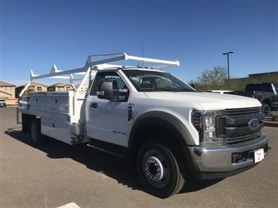 2019 F-450 Regular Cab DRW 4x2,  Scelzi CTFB Contractor Body #KDA02831 - photo 1