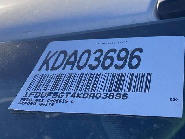 2019 Ford F-550 Regular Cab DRW 4x2, Cab Chassis #KDA03696 - photo 19