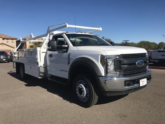 2019 F-550 Regular Cab DRW 4x2,  Scelzi Contractor Body #KDA04048 - photo 1