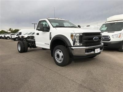 2019 F-550 Regular Cab DRW 4x2,  Cab Chassis #KDA06643 - photo 1