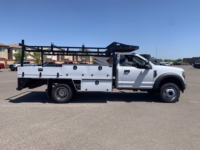 2019 Ford F-550 Regular Cab DRW 4x2, Milron Contractor Body #KDA25844 - photo 4