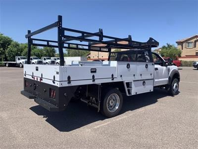 2019 Ford F-550 Regular Cab DRW 4x2, Milron Contractor Body #KDA25844 - photo 2