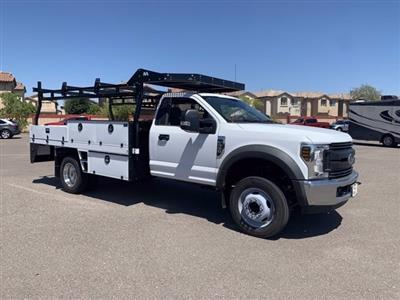 2019 Ford F-550 Regular Cab DRW 4x2, Milron Contractor Body #KDA25844 - photo 1