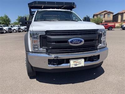 2019 Ford F-550 Regular Cab DRW 4x2, Milron Contractor Body #KDA25844 - photo 3
