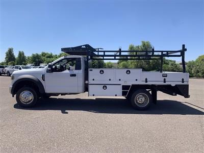 2019 Ford F-550 Regular Cab DRW 4x2, Milron Contractor Body #KDA25844 - photo 5