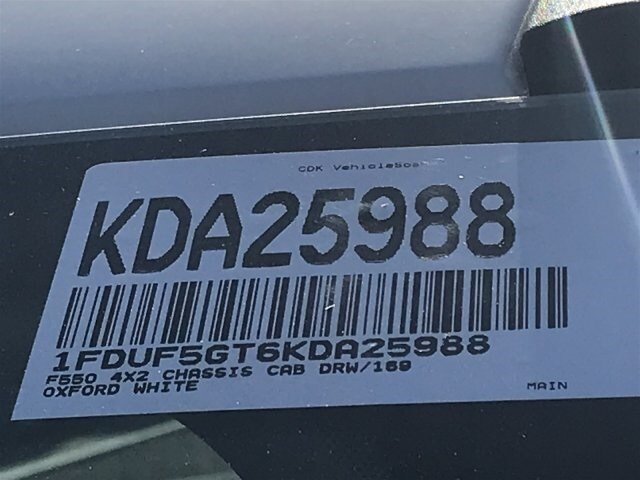 2019 F-550 Regular Cab DRW 4x2, Cab Chassis #KDA25988 - photo 23