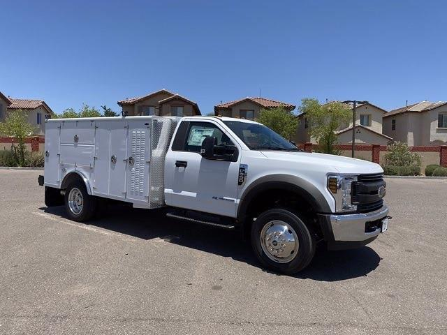 2019 Ford F-550 Regular Cab DRW 4x2, Milron Service Body #KDA25988 - photo 1