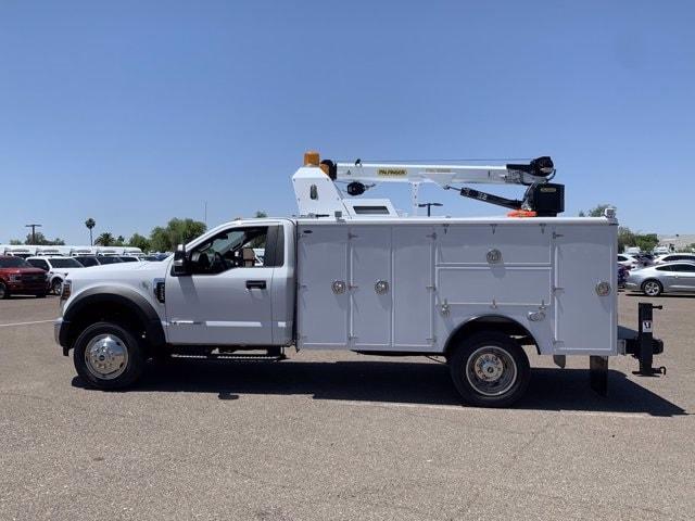2019 Ford F-550 Regular Cab DRW 4x2, Milron Crane Body #KDA25989 - photo 5