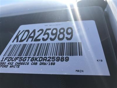 2019 F-550 Regular Cab DRW 4x2, Cab Chassis #KDA25989 - photo 22