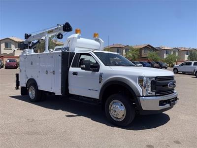 2019 Ford F-550 Regular Cab DRW 4x2, Milron Crane Body #KDA25989 - photo 1