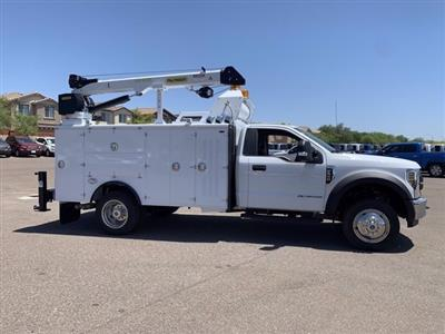 2019 Ford F-550 Regular Cab DRW 4x2, Milron Crane Body #KDA25989 - photo 4