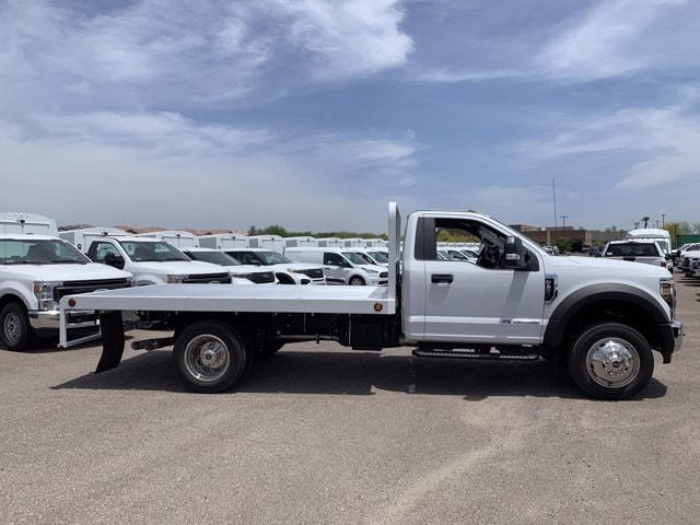 2019 Ford F-550 Regular Cab DRW 4x2, Scelzi Platform Body #KDA25990 - photo 3