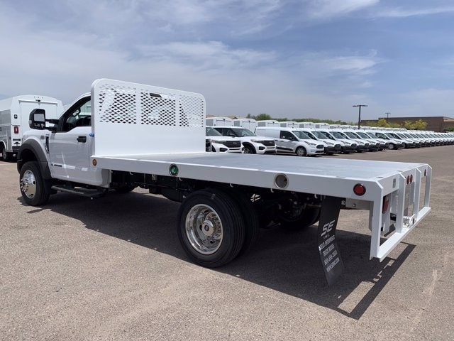 2019 Ford F-550 Regular Cab DRW 4x2, Scelzi Platform Body #KDA25990 - photo 6