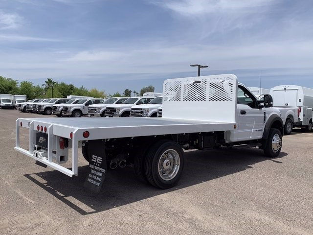 2019 Ford F-550 Regular Cab DRW 4x2, Scelzi Platform Body #KDA25990 - photo 2