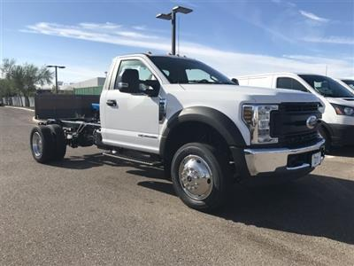 2019 F-550 Regular Cab DRW 4x2, Cab Chassis #KDA25990 - photo 1