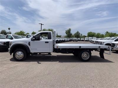 2019 Ford F-550 Regular Cab DRW 4x2, Scelzi Platform Body #KDA25990 - photo 4