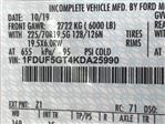 2019 F-550 Regular Cab DRW 4x2, Cab Chassis #KDA25990 - photo 22