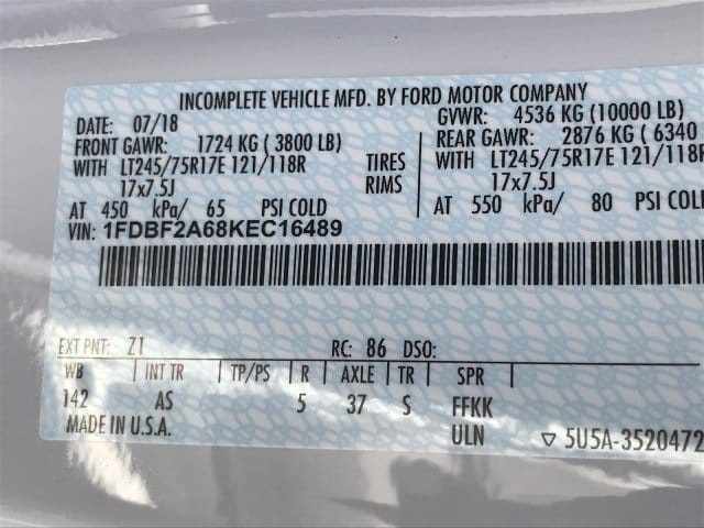 2019 F-250 Regular Cab 4x2,  Scelzi Signature Service Body #KEC16489 - photo 16