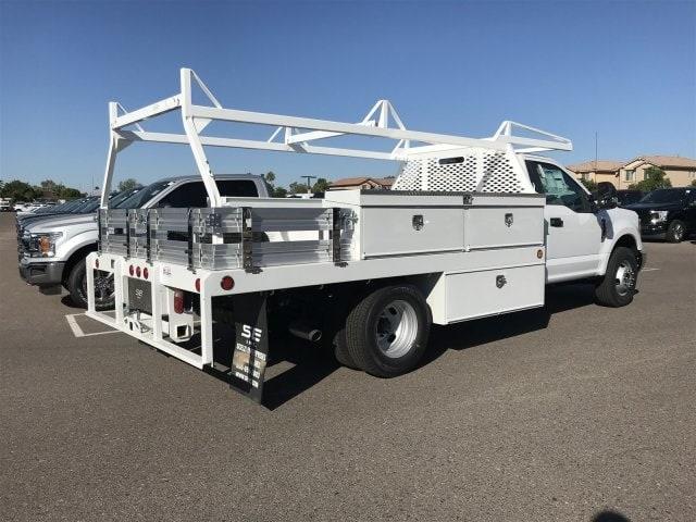2019 F-350 Regular Cab DRW 4x2,  Scelzi CTFB Contractor Body #KEC52203 - photo 2