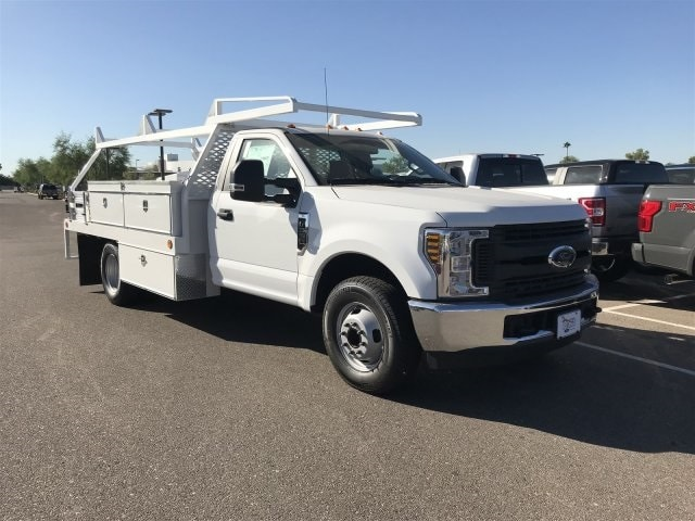 2019 F-350 Regular Cab DRW 4x2,  Scelzi CTFB Contractor Body #KEC52203 - photo 1