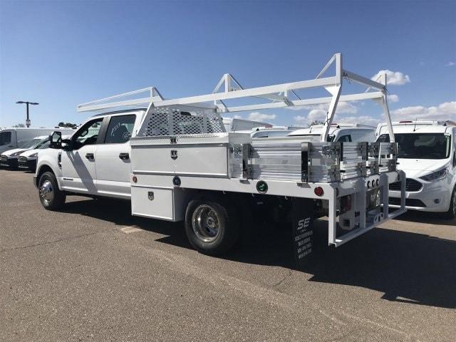 2019 F-350 Crew Cab DRW 4x2,  Scelzi CTFB Contractor Body #KED04136 - photo 3