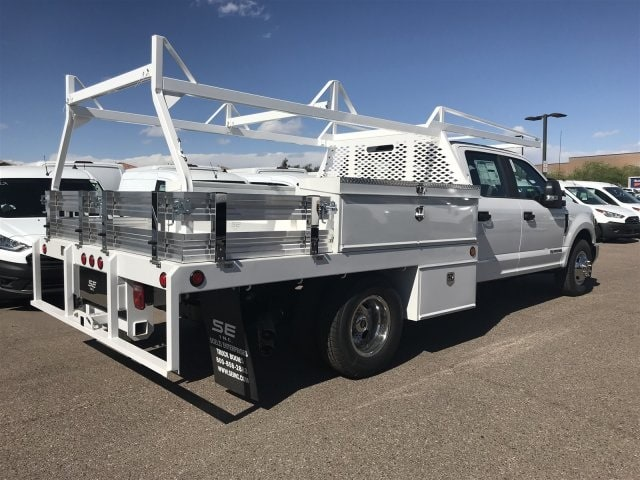 2019 F-350 Crew Cab DRW 4x2,  Scelzi CTFB Contractor Body #KED04136 - photo 2