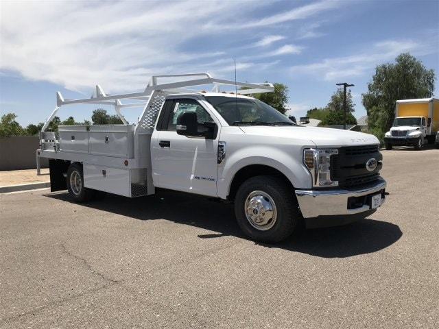 2019 F-350 Regular Cab DRW 4x2,  Scelzi Contractor Body #KED44247 - photo 1