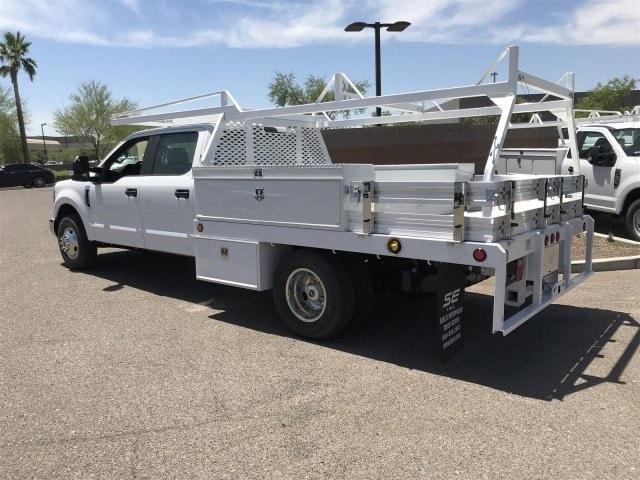 2019 F-350 Crew Cab DRW 4x2,  Scelzi CTFB Contractor Body #KED73318 - photo 2