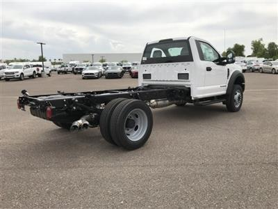 2019 F-550 Regular Cab DRW 4x2, Cab Chassis #KED95209 - photo 2