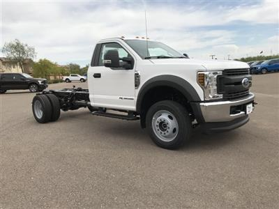 2019 F-550 Regular Cab DRW 4x2,  Cab Chassis #KED95210 - photo 1
