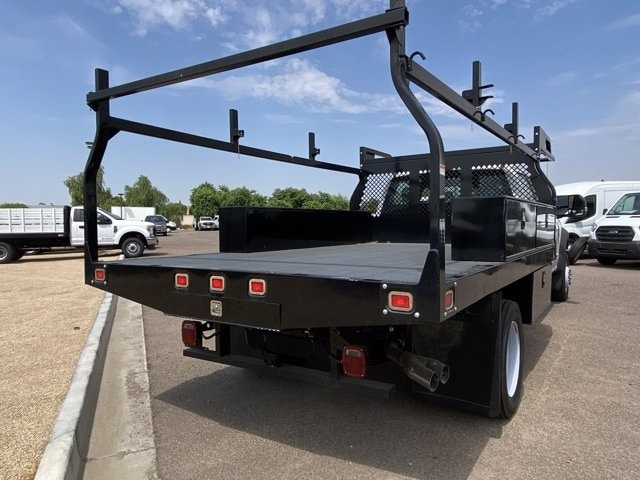 2019 Ford F-550 Crew Cab DRW 4x4, Monroe Contractor Body #KED95346 - photo 8