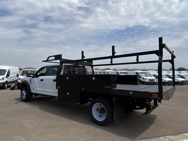 2019 Ford F-550 Crew Cab DRW 4x4, Monroe Contractor Body #KED95346 - photo 7