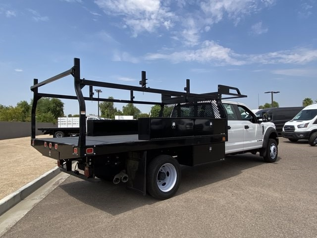 2019 Ford F-550 Crew Cab DRW 4x4, Monroe Contractor Body #KED95346 - photo 1