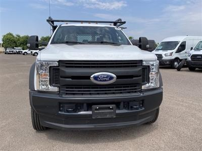 2019 Ford F-550 Crew Cab DRW 4x4, Monroe Contractor Body #KED95346 - photo 3