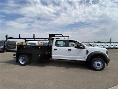 2019 Ford F-550 Crew Cab DRW 4x4, Monroe Contractor Body #KED95346 - photo 4