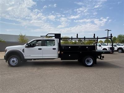 2019 Ford F-550 Crew Cab DRW 4x4, Monroe Contractor Body #KED95346 - photo 5