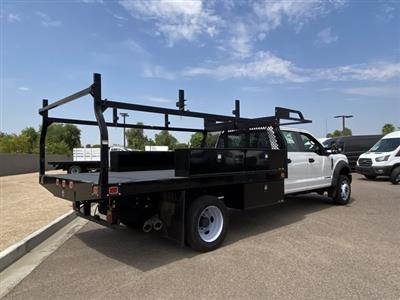 2019 Ford F-550 Crew Cab DRW 4x4, Monroe Contractor Body #KED95346 - photo 2