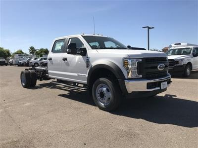 2019 F-450 Crew Cab DRW 4x4,  Cab Chassis #KED96476 - photo 1