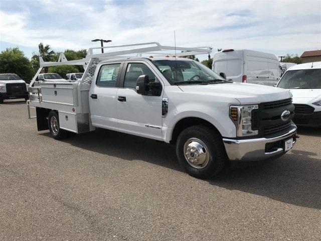 2019 Ford F-350 Crew Cab DRW 4x2, Scelzi Contractor Body #KEE29272 - photo 1