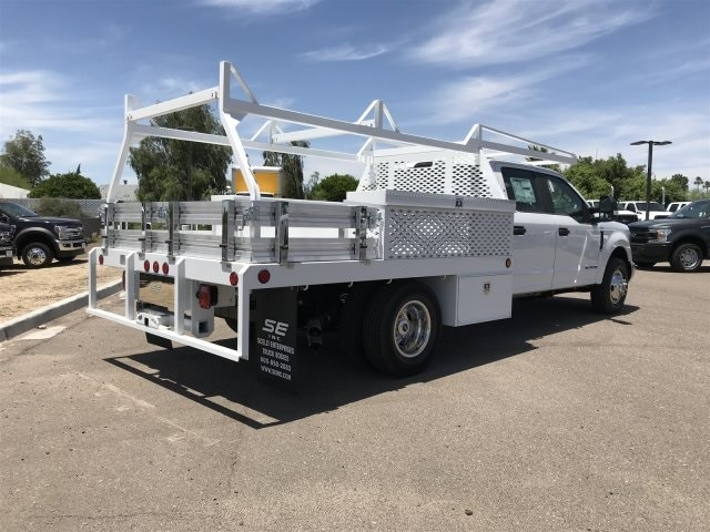 2019 Ford F-350 Crew Cab DRW 4x2, Scelzi Contractor Body #KEE29274 - photo 1