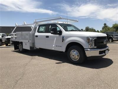 2019 F-350 Crew Cab DRW 4x2,  Scelzi CTFB Contractor Body #KEE29274 - photo 1