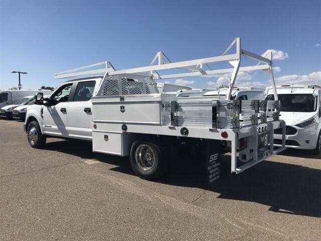 2019 F-350 Crew Cab DRW 4x2, Scelzi CTFB Contractor Body #KEE29275 - photo 3