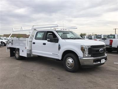 2019 F-350 Crew Cab DRW 4x2, Scelzi CTFB Contractor Body #KEE29276 - photo 2
